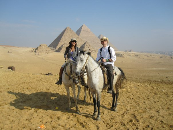 I Came Seeking Truth - shane hutton pyramids horses egypt